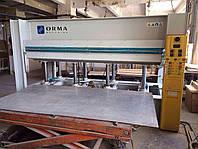 Горячий пресс Orma NPC/ES бу 1,3х3 метра с электрообогревом
