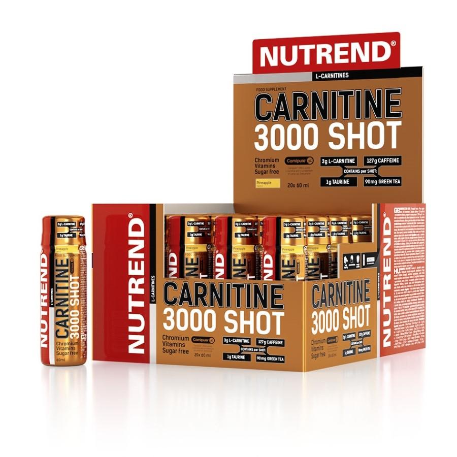 Nutrend Carnitine Shot 3000 20x60ml