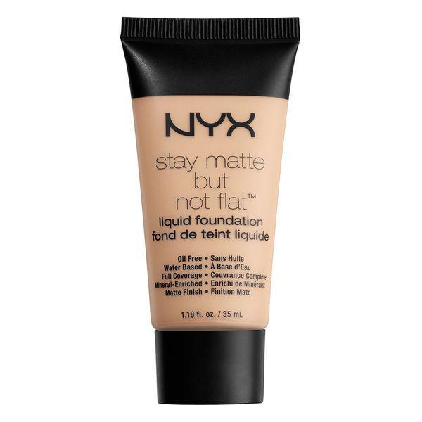 NYX SMF16 Stay Matte But Not Liquid F. Porcelain - Матирующая тональная основа, 35 мл