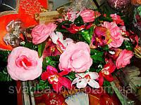 Украшение свадебных машин Икебана Цветочная