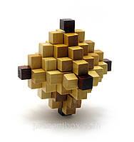 Головоломка деревянная (10 Х 10 Х 10 см )