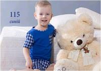 Пижама детская для мальчика подростковая летняя хлопок Wiktoria W 115
