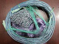 Рыболовная сеть Финка (50,55 ячейки), трехстенная, для промышленного лова
