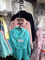 Стильный костюм сарафан +пиджак для девочек,128-152