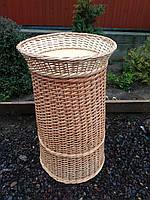 Плетеная багетниця