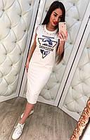 Платье moschino белое, 42