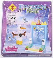 """Конструктор для детей 6-12 лет """"Холодное торжество. Снеговик"""" SL Toys Frozen Fever"""