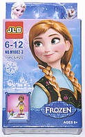 """Фигурка - конструктор для детей 6-12 лет """"Холодное сердце. Принцесса Анна"""" JLB Frozen"""