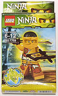 "Фигурка-конструктор для детей от 6 до 12 лет "" Ниндзяго. Скайлор"" LEBQ Ninja №1759"