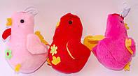 """Мягкая игрушка-присоска """"Цыпленок с цветочком"""" (В наборе 12 шт.)"""