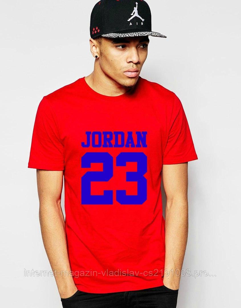 Мужская футболка Jordan 23, цена 268 грн., купить в Днепре — Prom.ua ... ba6d86e297d