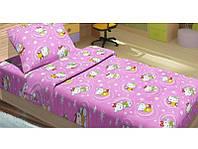 Постельное белье для подростков Lotus Young - Hello Kitty Star V1 розовый ранфорс