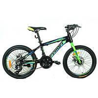 Подростковый спортивный велосипед  20 дюймов PROFI G20HARDY A20.2 оборудование Shimano ***
