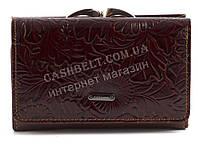 Оригинальный маленький стильный прочный кошелек высокого качества FUERDANNI art. 80118 коричневый