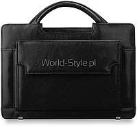 05-19 Черная женская сумка-портфель модель Gauharbanu
