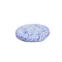 Подушка на стул Фреска-Лаванда круглая D-40см