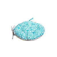 Подушка на стул Фреска-Тифани круглая D-40см