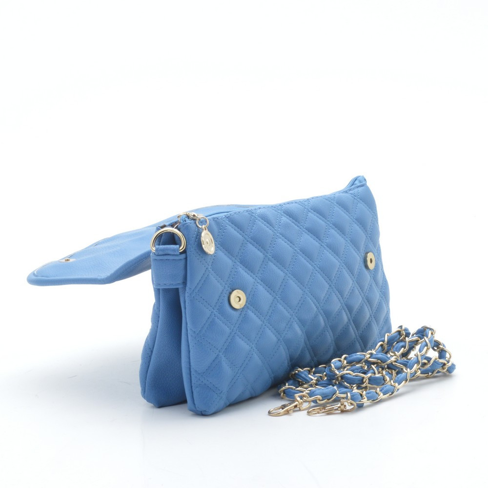 e0e20c1046dc Оригинальный модный стеганый клатч , синий: продажа, цена в ...