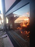 Каминная топка : Kratki (Польша)  Изоляционный короб : PAROC Fireplace Slab 90   Дата: март 2017