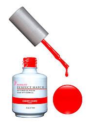 Гель-лак Lechat Perfect Match 01 CHERRY COSMO - красный матовый, 15 мл