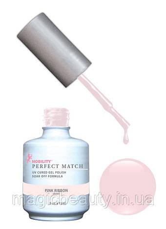Гель-лак Lechat Perfect Match 08 Pink Ribbon - бежевый, полупрозрачный,  15 мл