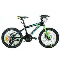 Спортивный велосипед 20 дюймов PROFI G20HARDY A20.2 оборудование Shimano