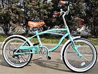 Стильный спортивный велосипед круизер  20 дюймов PROFI G20 URBAN S20.1 оборудование Shimano ***