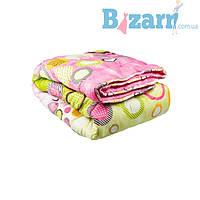 Одеяло 2-й силикон  ткань поликоттон евро (в чемодане) УкрЮгТекстиль