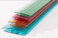 НР-Соединительный профиль 6мм цветной в ассортименте