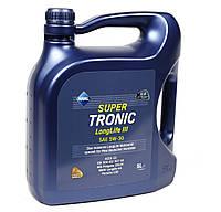 Масло Super Tronic LL III 5W30, 5L  VW 504 00/507 00 MB229.51  BMW Longlife-04