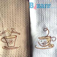 Кухонное полотенце Вафельное кофе 214-7