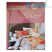 Комплект постельного белья 5D хлопок двойка