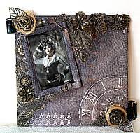 Романтический подарок любимой на 8 марта  Оригинальная фоторамка Ручная работа