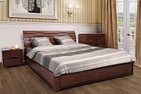 Кровать двуспальная с подъемным механизмом Мария