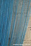 Шторы Нити Дождик Голубой № 11
