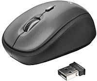 Мышь TRUST Yvi Wireless Mini Mouse grey