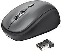 Мышь TRUST Yvi Wireless Mini Mouse grey, фото 1