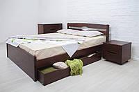 Полуторная кровать Ликерия-Люкс с ящиками