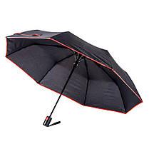 Зонт складной  полуавтомат под нанесение, фото 3