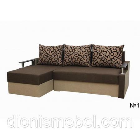 Угловой диван Микс(5 расцветок)