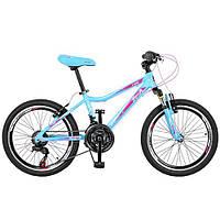 Подростковый спортивный велосипед  20 дюймов PROFI GW20 CARE A20.2 оборудование Shimano ***