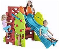 Игровая площадка Wood House Feber - Испания - боковые лесенки со ступеньками