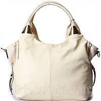 Женская сумка Gilda Tohetti бежевого цвета