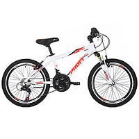 Подростковый спортивный велосипед  20 дюймов PROFI GW20 PLAIN A20.1 оборудование Shimano ***