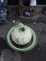 Фонтан садовый Лягушка на шаре