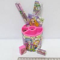 Набор настольный детский 7 предметов 4006-5 Девочки