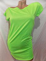 Женское платье-туника короткое