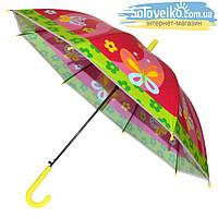 Зонтик детский с цветочками ДСК03