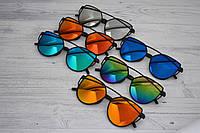 Солнцезащитные  очки копия Диор в пластиковой оправе