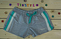 Трикотажные  шорты для девочки  рост 128-164
